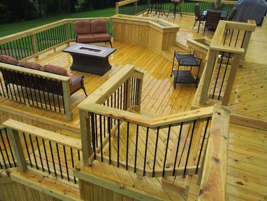 Pruitt built outdoor living spaces and design home for Deck builders fayetteville ar